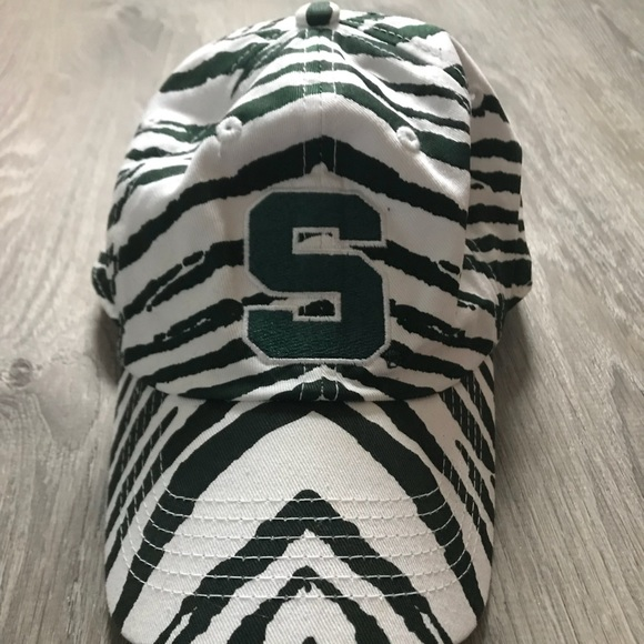 official photos 0382a ce863 MSU Michigan State University SnapBack Hat 💚